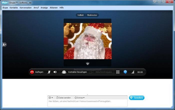 Скайп с новым годом поздравить